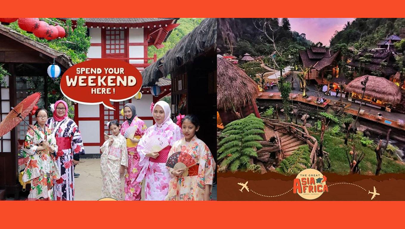The Great Asia Afrika, destinasi wisata baru di Lembang, Bandung. (Foto: Instagram/@thegreatasiaafrica.id)