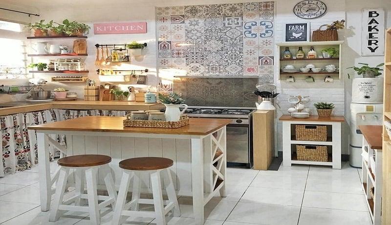 Desain dapur minimalis. Foto: Instagram/dapurcantikterbaru