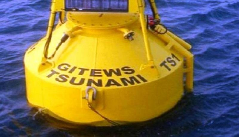ilustrasi alat deteksi peringatan dini tsunami. Foto: Antara