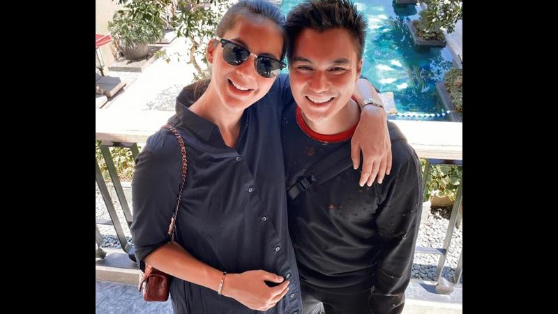 Paula Verhoeven dan Baim Wong (foto: IG @paula_verhoeven)
