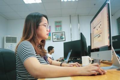 Ilustrasi pendaftaran CPNS dengan cara daring (Foto: unsplash.com)