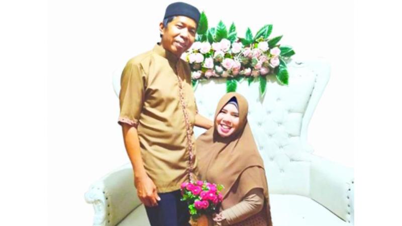 Kiwil dan Rohimah di momen sebelum bercerai (foto: SC IG @kiwil_1299)