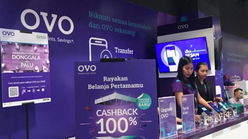 Ilustrasi OVO. Lippo Group memutuskan menjual dua pertiga sahamnya di OVO karena merasa tidak sanggup membakar uang. Foto: Antara