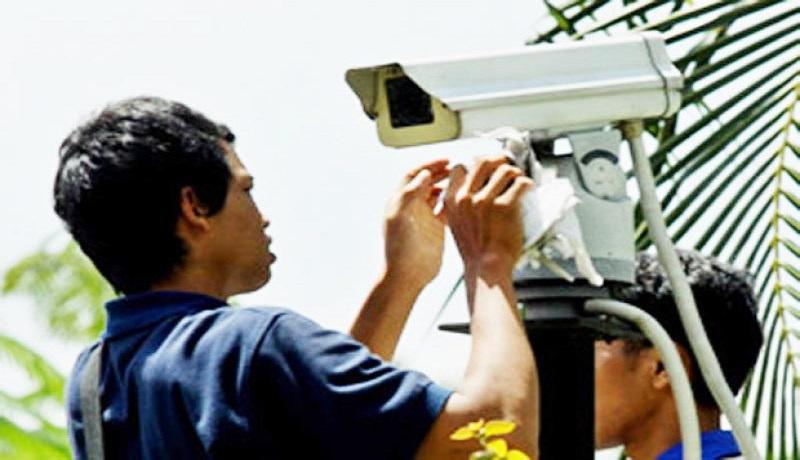 Pemasangan CCTV. (ist)