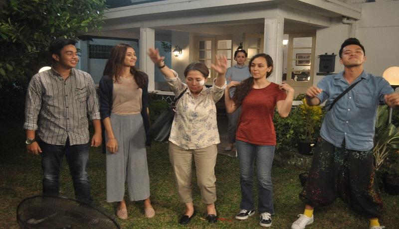 Adegan cerita di Film Mahasiswi Baru. (dok)