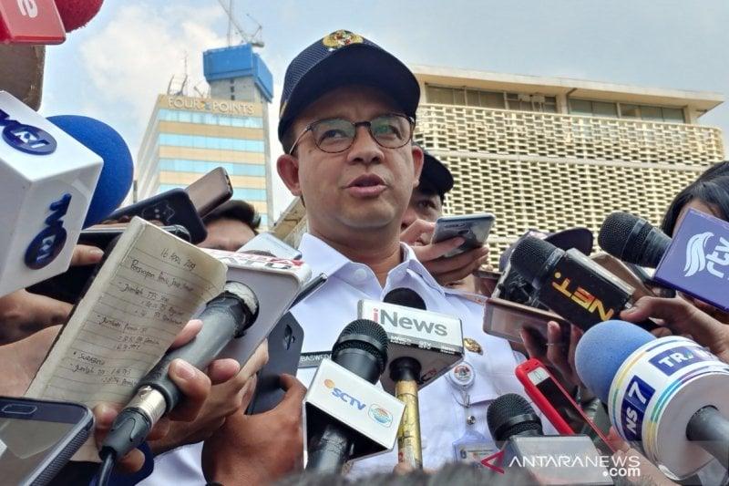 Gubernur Anies Baswedan menyebut, demi meningkatkan kualitas udara di Jakarta, sebanyak 200 taman akan dibangun dalam jangka waktu 4 tahun ke depan. (Sumber foto: Antaranews)