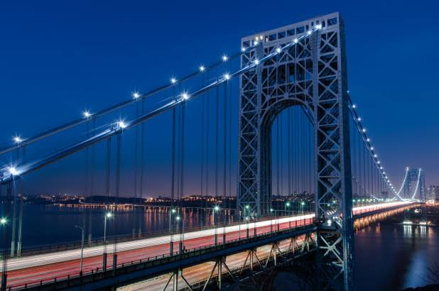 Jembatan George Washinton di New York ditutup karenan ada ancaman bom. (Foto: New York Post)