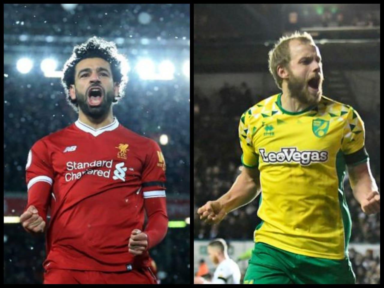 Liverpool vs Norwich City di laga pertama Liga Inggris musim ini. Siapa lebih unggul? (Foto : Istimewa)