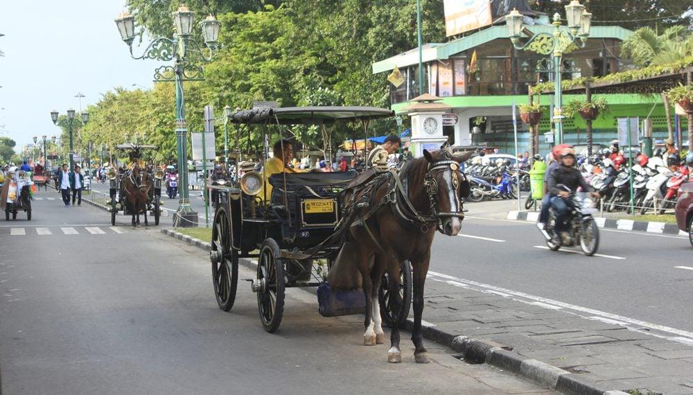 Asyik, andong online segera meng'aspal' di Yogyakarta (Foto : Jogja Inside)