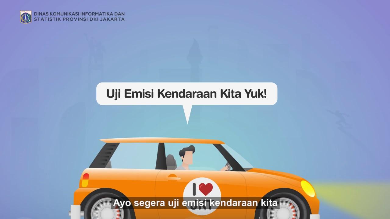 Aplikasi E-Uji Emisi diharapokan mampu menanggulangi polusi di Jakarta. (Foto: Youtube)