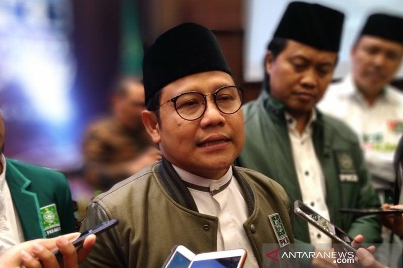 Ketua Umum PKB Muhaimin Iskandar (Cak Imin). (Sumber Foto: Antaranews/ Wisnu Adhi)