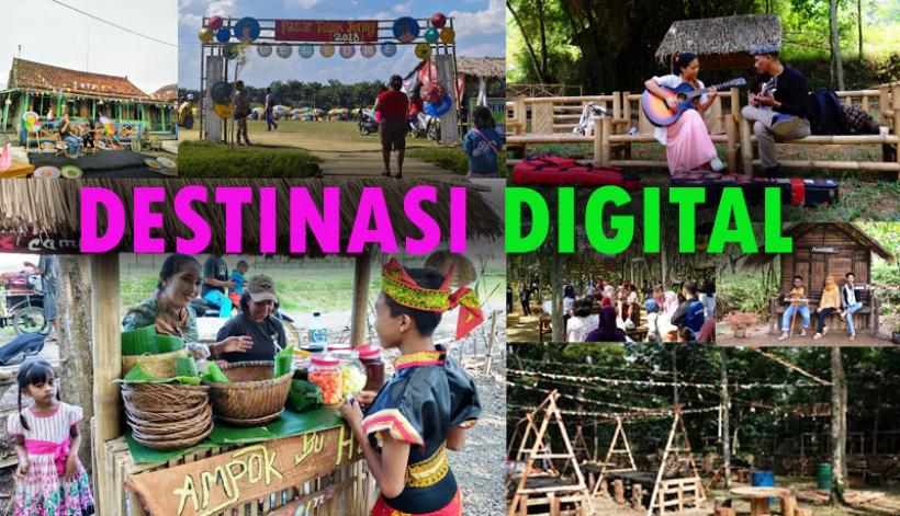 Ilustrasi Destinasi digital (Foto: Istimewa)