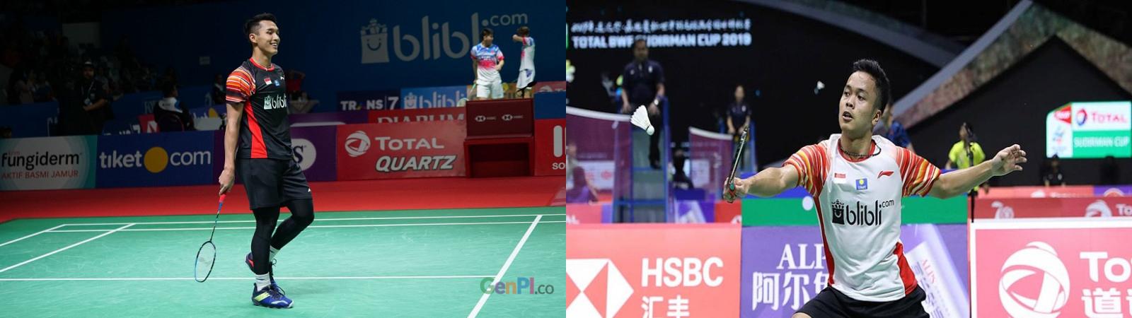 Jojo dan Anthony Sinisuka Ginting melaju ke babak ketiga Kejuraan Dunia 2019