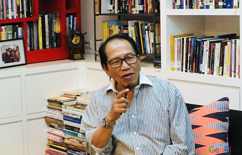 Ishadi SK, pengamat pertelevisian yang juga menjabat sebagai komisaris Utama Trans Media prihatin dengan masalah yang dialami okeh NET TV. (Foto: Dok. GenPI.co)