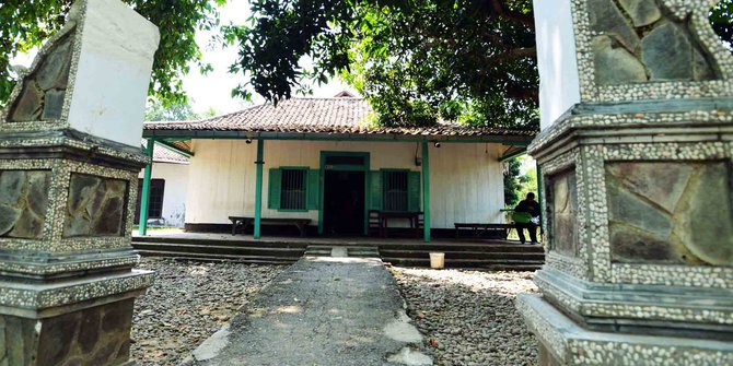 Rumah di Rengasdengklok, tempat Soekarno-Hatta ditahan sebelum membacakan teks proklamasi. (Foto: Merdeka.com)