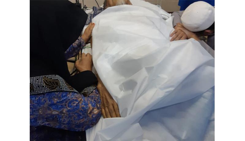 Gambaran Suasana Duka Keluarga Mbah Moen di Makkah
