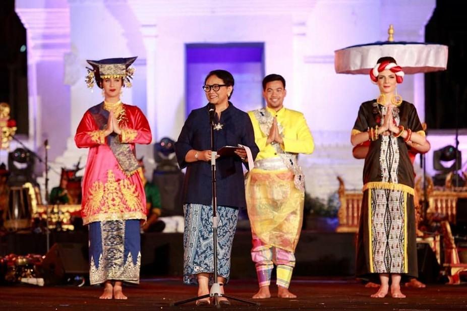 72 Pelajar Asing Tampil Dalam Gelaran Indonesia Channel 2019
