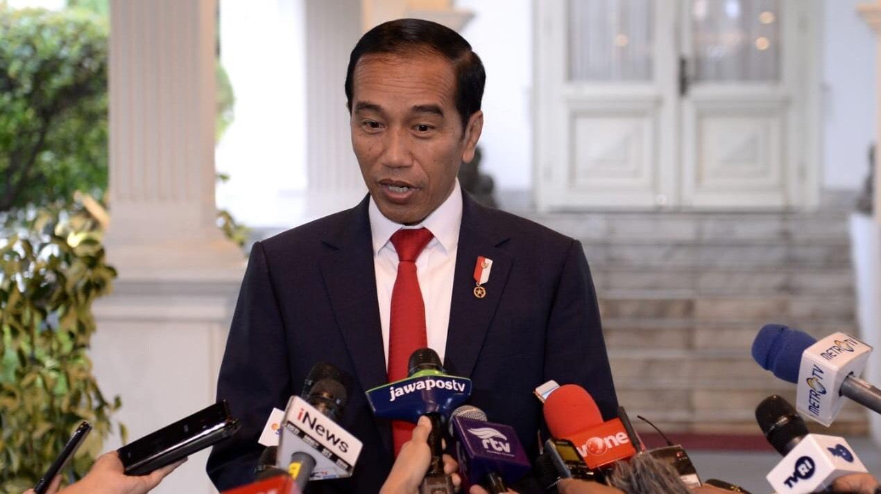 Presiden Joko Widodo mengungmumkan Ibukota Bari Indonesia berlokasi di Kaltim. (Foto: Biro Setpres)