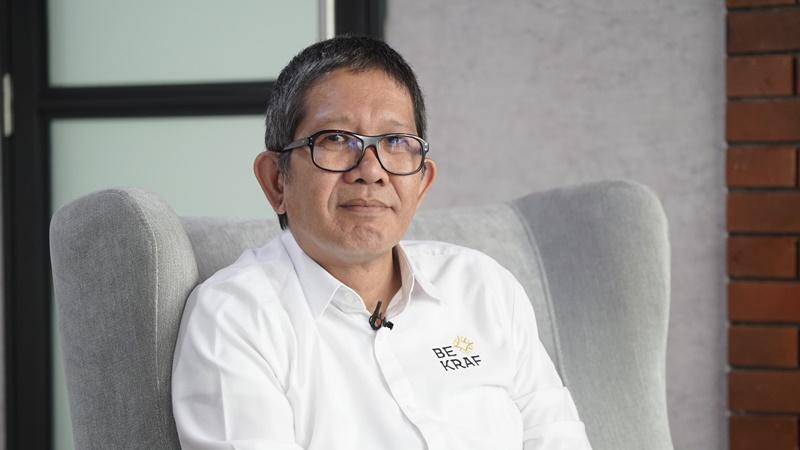 Wakil Kepala Bekraf, Ricky Joseph Pesik (foto: Sapta Inong)