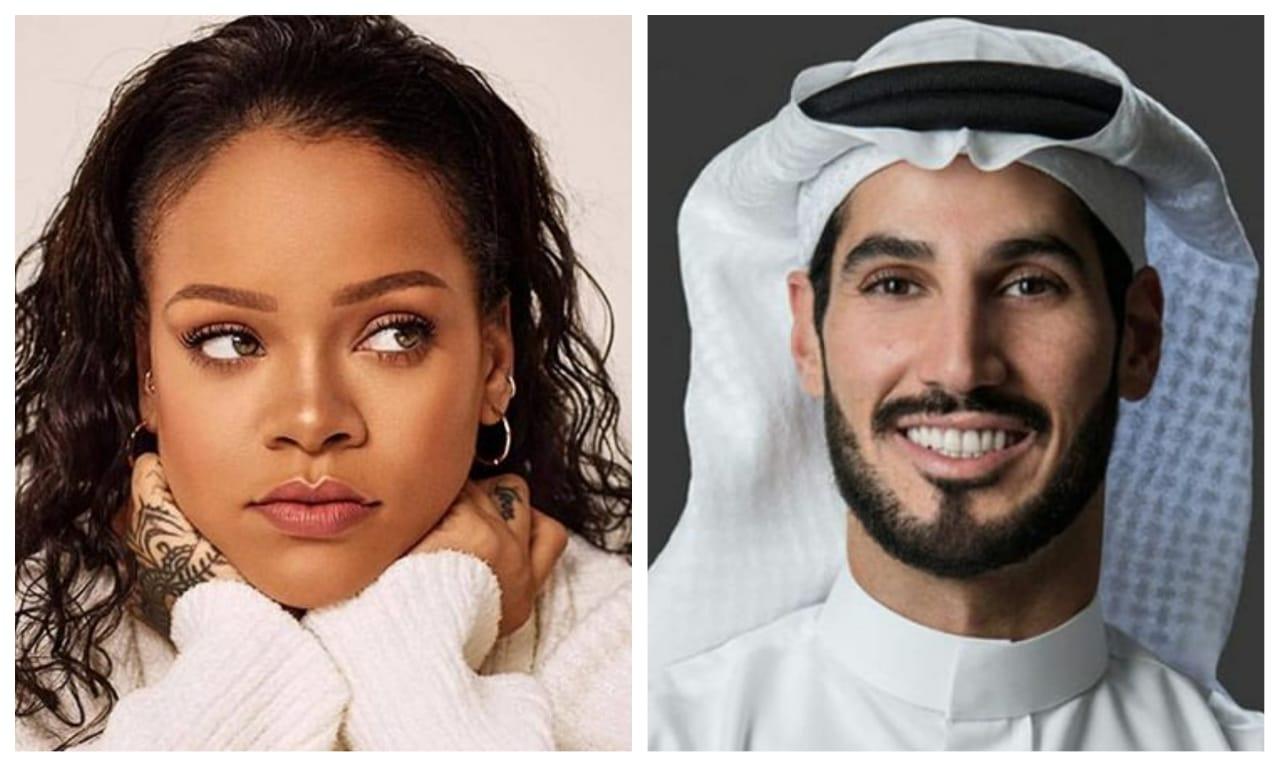 Rihanna dan pacarnya Hasan Jameel, seorang miliuner dari Arab Saudi. (Foto: Istimewa)