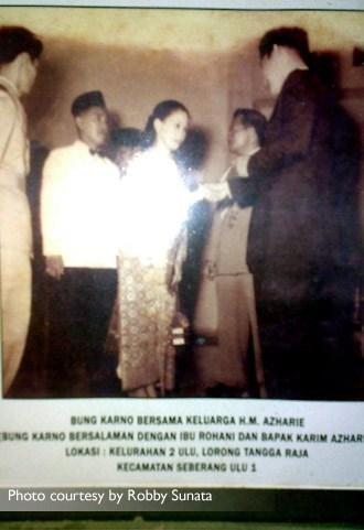 Jejak Proklamator Soekarno di Palembang