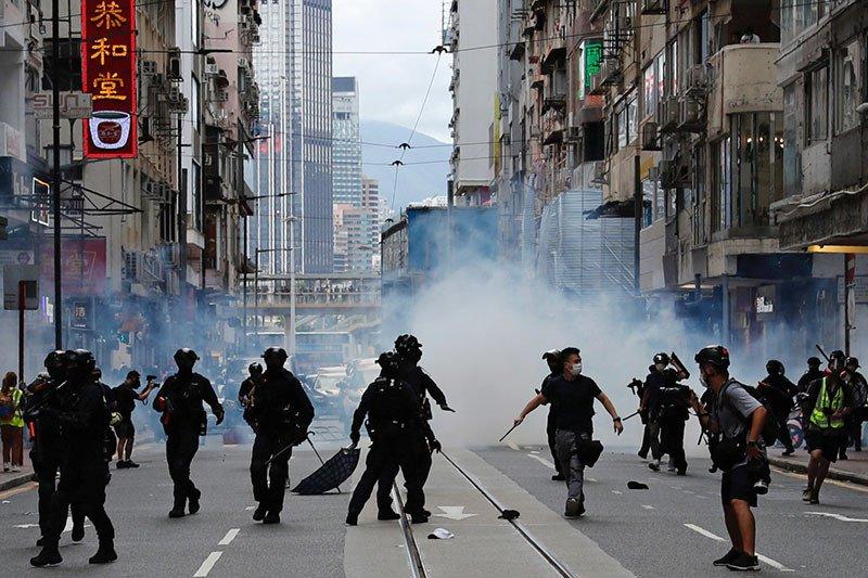 UU Keamanan di Hong Kong Mulai Menjerat, ini Korban Pertama