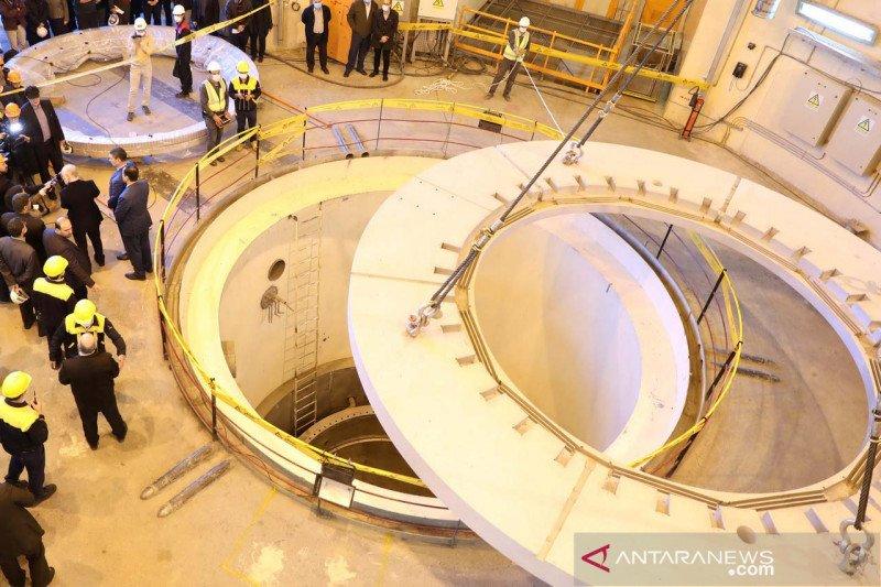 reaktor nuklir air berat di Kota Arak, Iran. (Foto: Antara/West Asian News Agency via REUTERS/wsj)