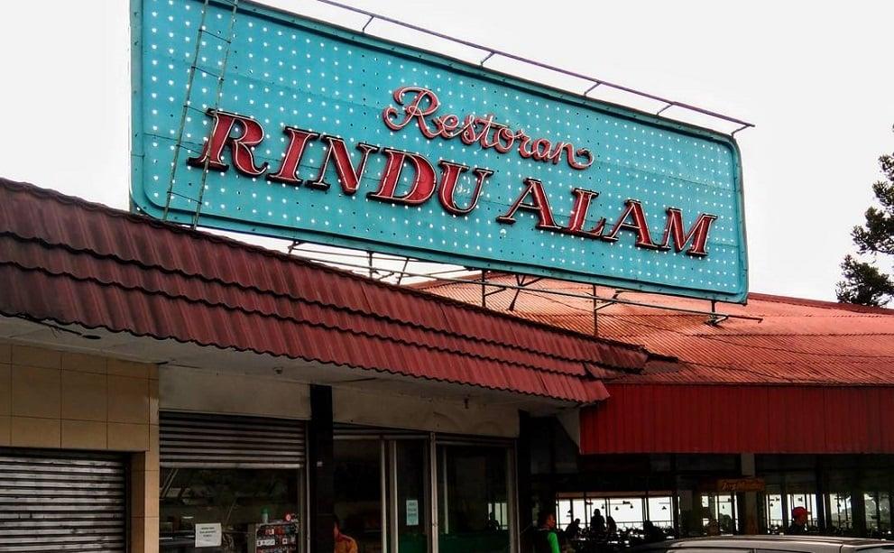 Restoran Rindu Alam, Puncak, Bogor (Foto: Instagram/@iponxonik)
