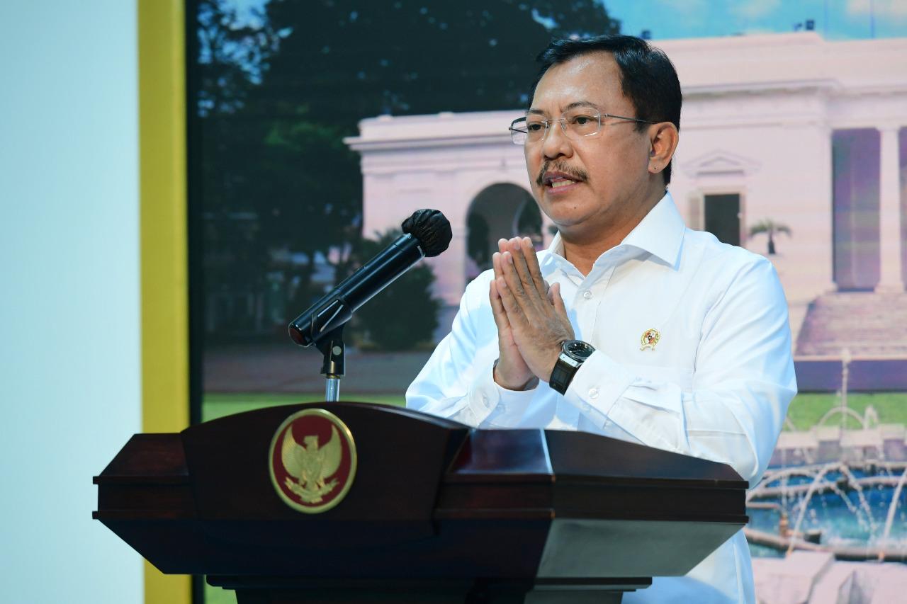 Eks Menteri Kesehatan Terawan Agus Putranto. (Foto: Biro Setpres)