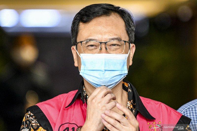 Terpidana kasus Jiwasraya, Benny Tjokro (foto: Antaranews)