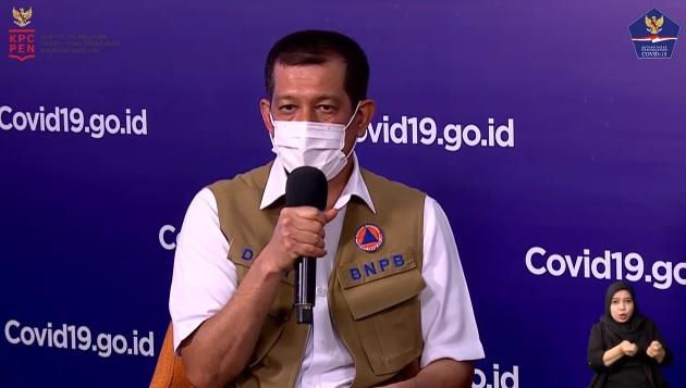 Ketua Satgas covid-19 Doni Monardo (Foto: YouTube/BNPB)