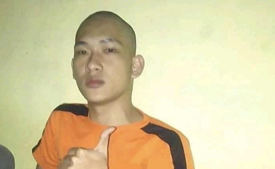 Ferdian Paleka di dalam tahanan. (Foto: Tangkapan layar Instagram @lambe_turah)