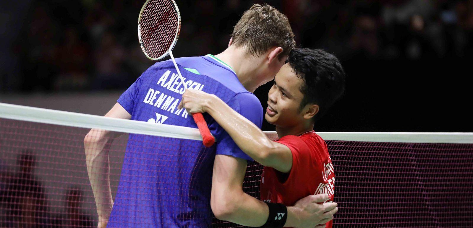 Tunggal putra Anthony Sinisuka Ginting tampil luar biasa pada semifinal Indonesia Masters 2020. Foto: PBSI