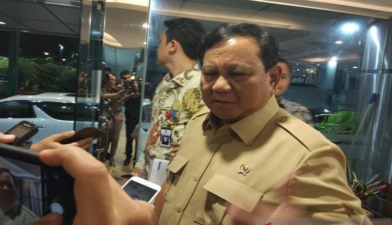 Menteri Pertahanan Prabowo Subianto. Foto: Antara