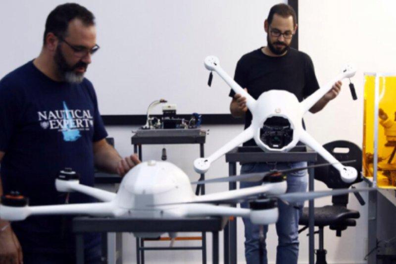 Drone Buatan Israel Awasi Penduduk Singapura