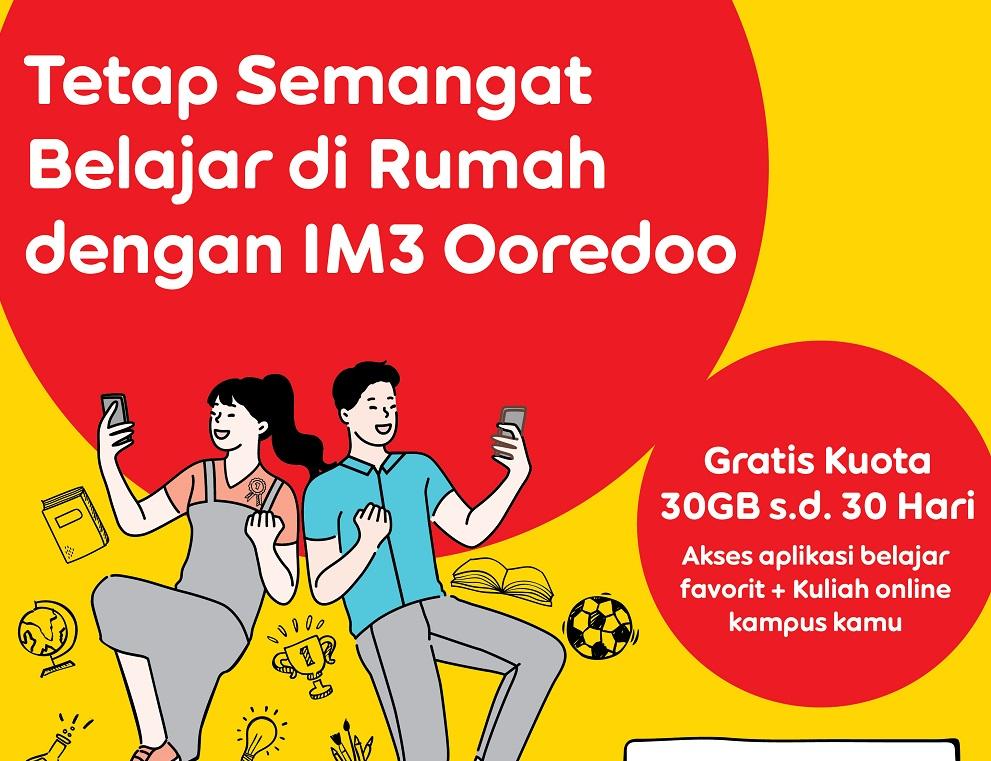 Indosat Beri Internet Gratis untuk Belajar di Rumah (Foto: PR Indosat)