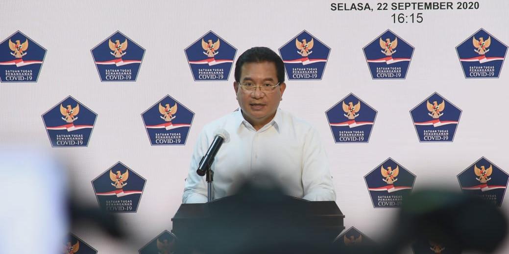 Juru Bicara Satgas Penanganan Covid-19 Prof Wiku Adisasmito (Foto: BNPB)