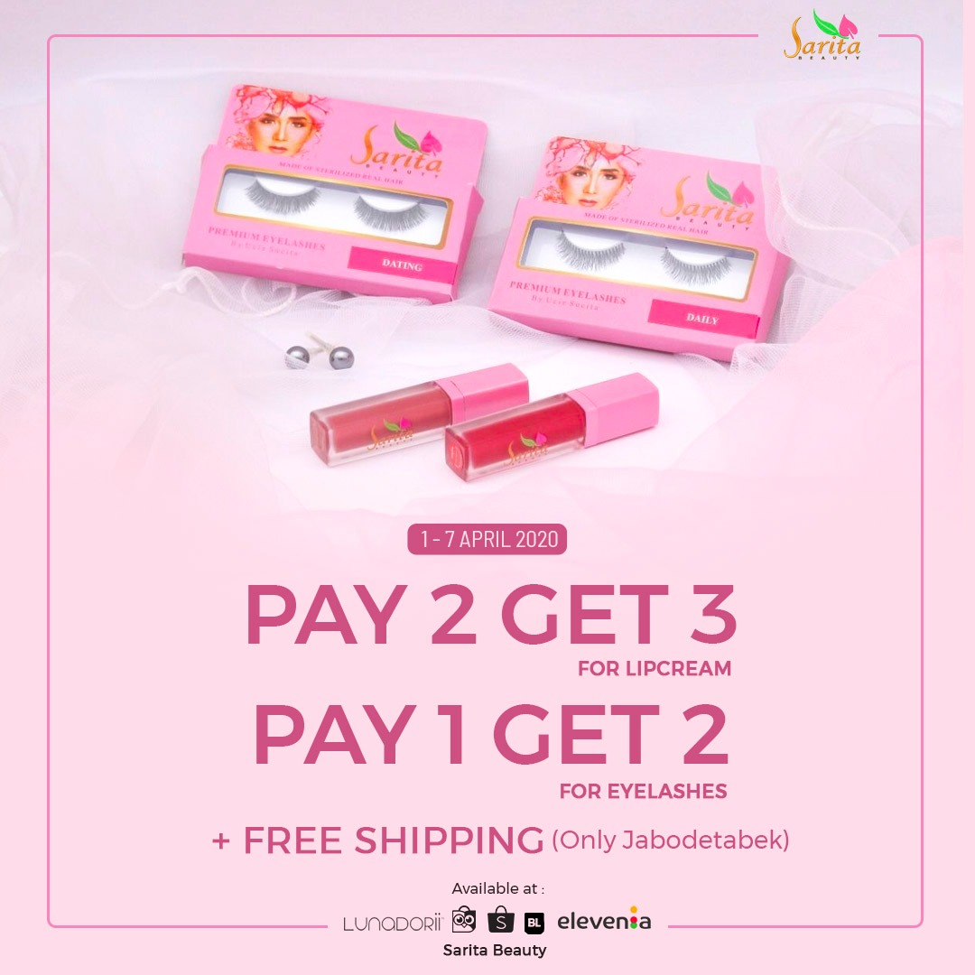 Bukan April Mop, Sarita Beauty Gelar Promo Istimewa