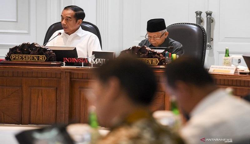 Presiden Joko Widodo dan Wakil Presiden Ma'ruf Amin. Foto: Antara