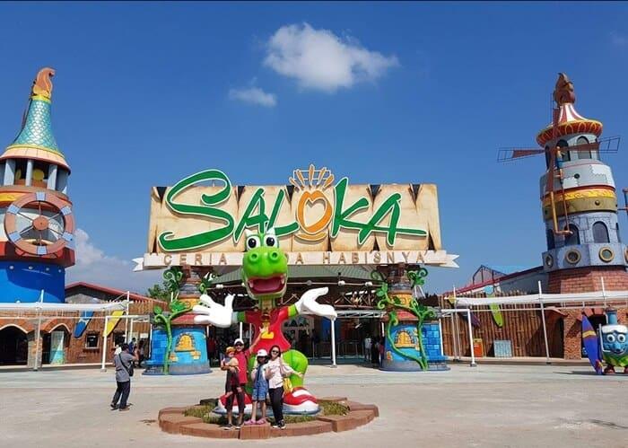 Saloka Park (Foto: Nativeindonesia.com)