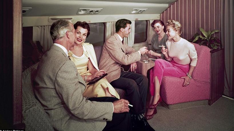 Di1950-an Naik Pesawat Hanya Bisa Dilakukan Orang Kaya, Tapi...
