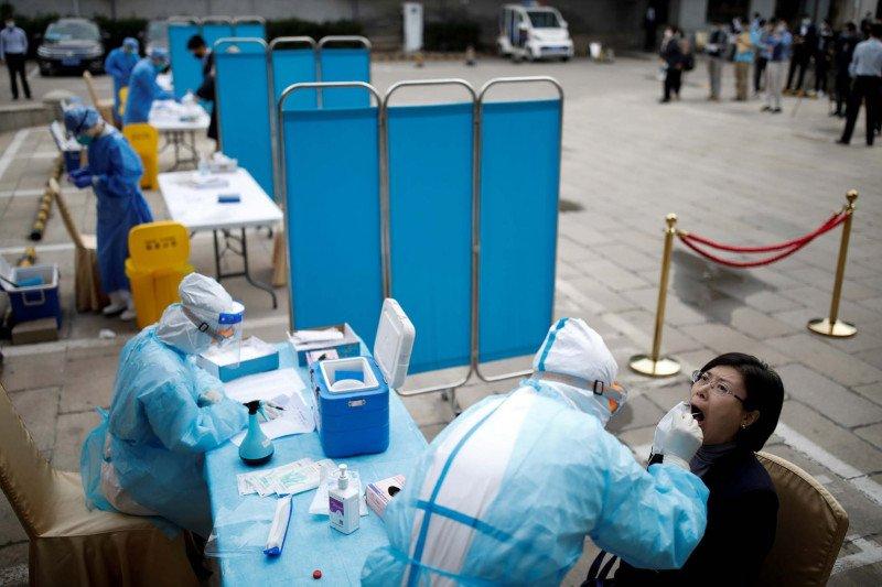 China Deg-degan, COVID-19 Menggeliat Lagi
