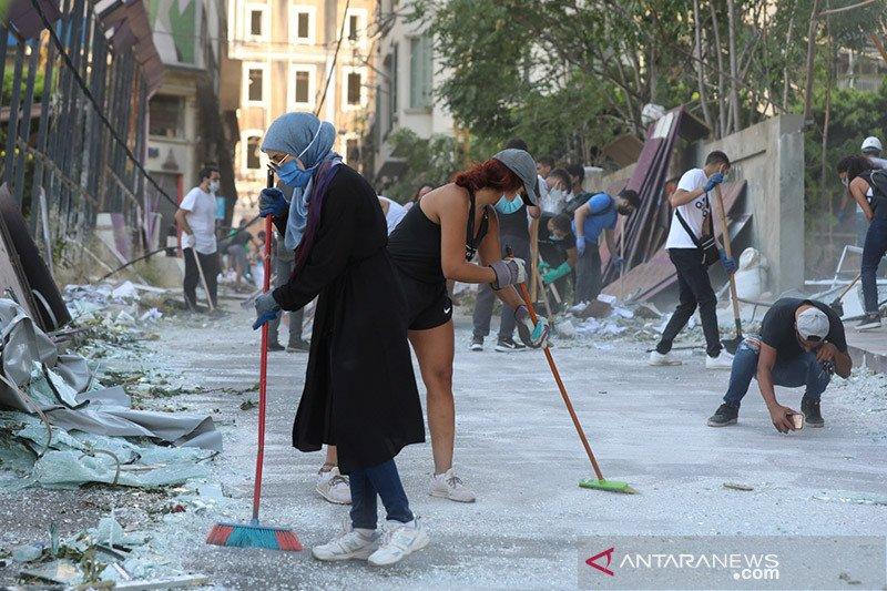 Presiden Lebanon Selidiki Ketelibatan Asing dalam Ledakan Beirut