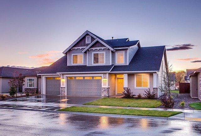 Ilustrasi rumah setelah diguyur hujan (Foto: Pixabay)