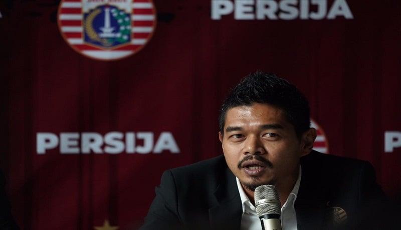Bambang Pamungkas menjabat sebagai manajer Persijak Jakarta. Foto: Persija Jakarta