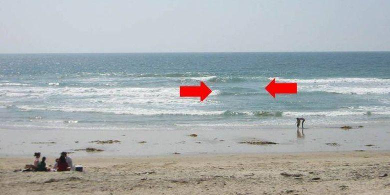 Kalau Lihat Gelombang Begini di Pantai, Jangan Coba Berenang!