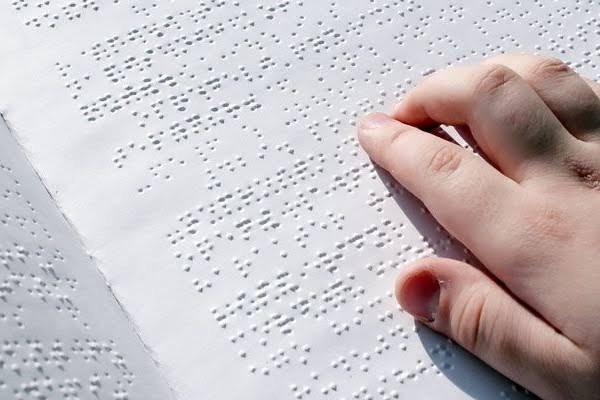 Ilustrasi novel braille (Foto: Depustaka)