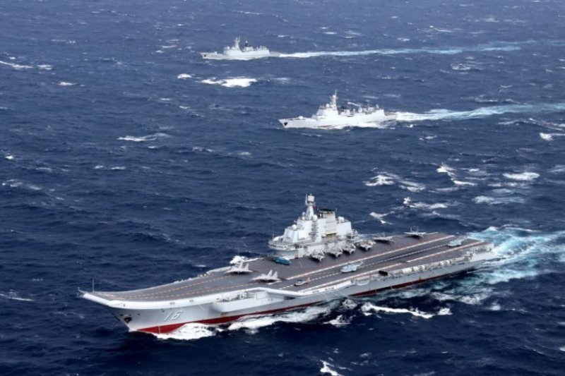 China Pamer Kekuatan di Laut China Selatan, AS Bilang…