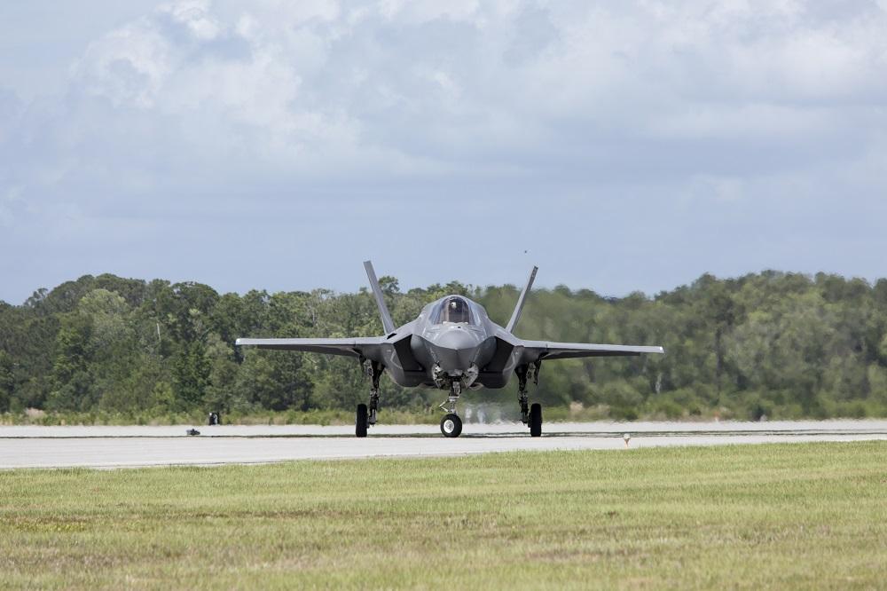 Ilustrasi pesawat tempur F-35. (Foto: Elements Envato)