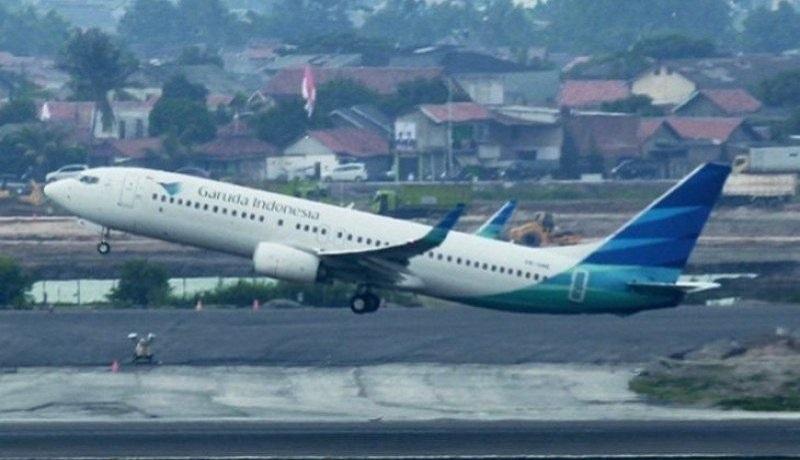 Ilustrasi Maskapai Garuda Indoensia. Foto: Antara